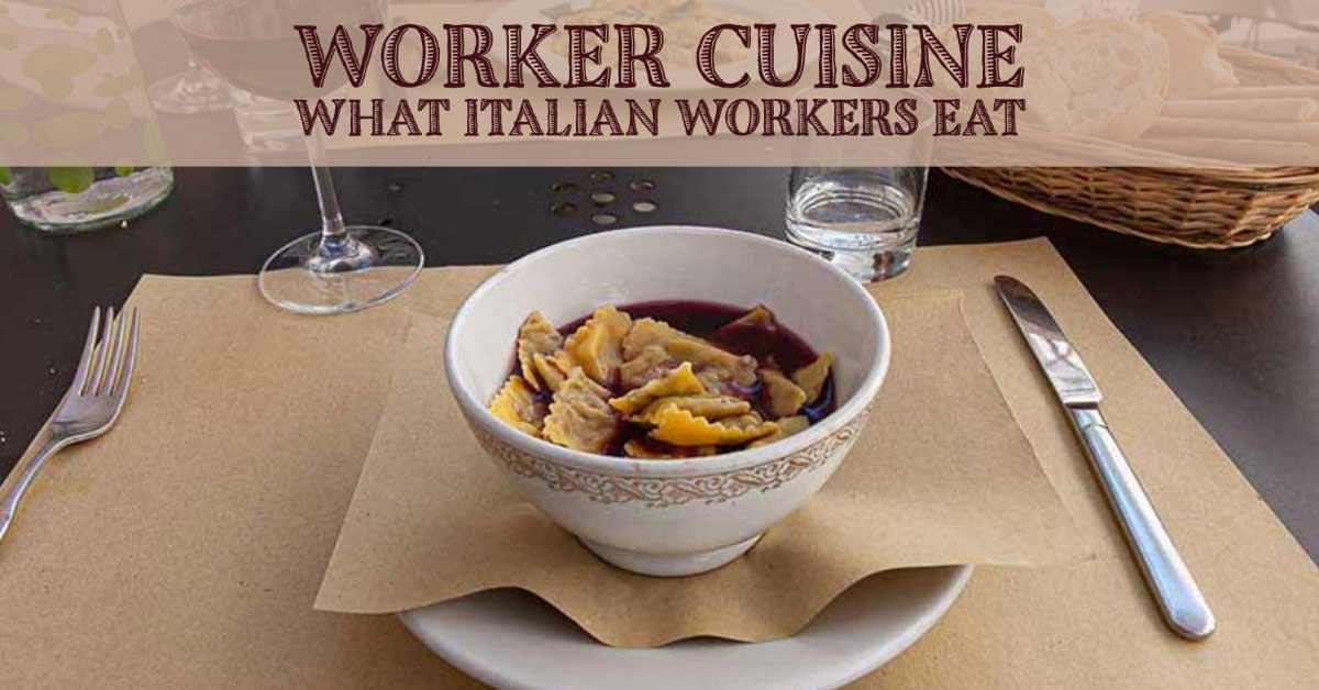 worker cuisine